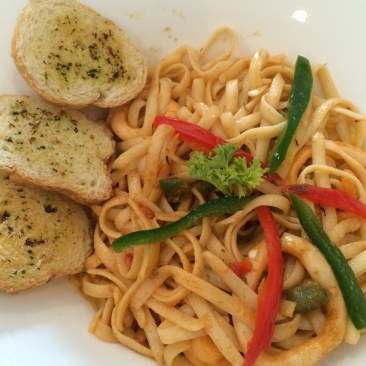 Seafood Pasta (PhP 230)